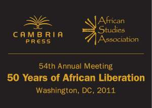 Cambria Press Celebrating 50 Years of African Liberation