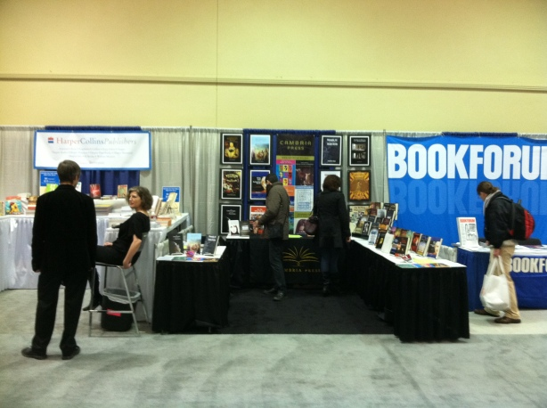 Cambria Press Premium Booth