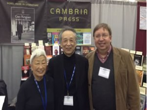 Cambria Press MLA Booth Mabel Lee Gao Xingjian Christopher Lupke