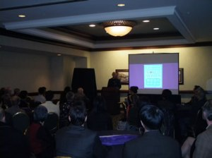 Cambria Press Sinophone World Series Reception - Victor Mair speaks about Cambria Press.