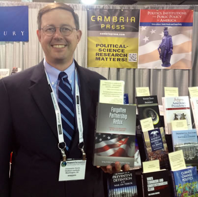 Cambria Press academic publisher Author Christopher Sands