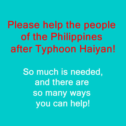 How to help Typhoon Haiyan Philippines