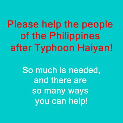 How to help Typhoon Haiyan Philippines