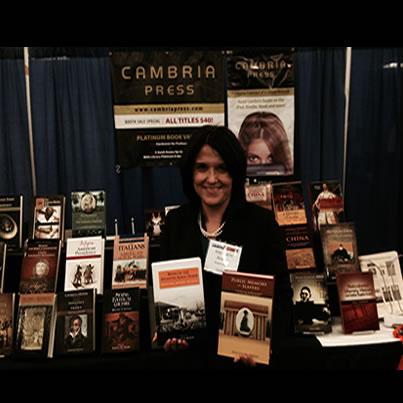 #AHA2014 Cambria Press academic publisher slavery expert Ana Lucia Araujo