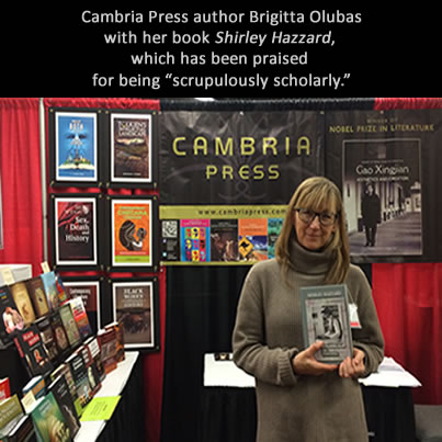 Cambria Press author Brigitta Olubas academic publisher MLA #MLA14