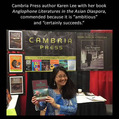 Cambria Press academic publisher Karen Lee MLA #MLA14