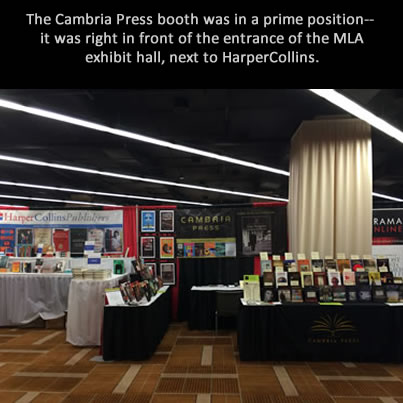 Cambria Press academic publisher MLA #MLA14