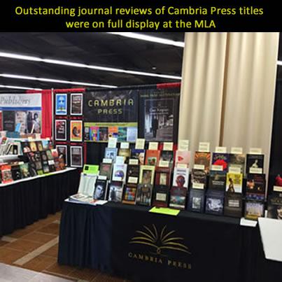 mla 2014 annual convention incredible success for cambria press