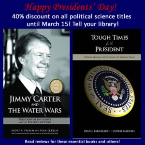 Cambria Press Academic Publisher Presidents' Day Political Science