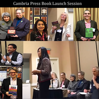 AAS2014 Victor Mair Toni Tan Cambria Press academic publisher