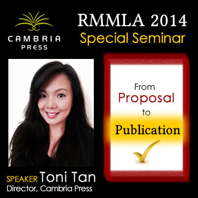 Toni Tan Cambria Press academic publisher