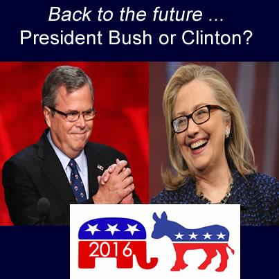 Bush Clinton 2016