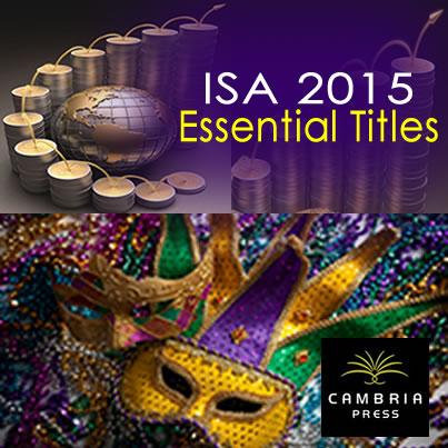 #ISA2015 International Relations, IR, Cambria Press, academic pubisher