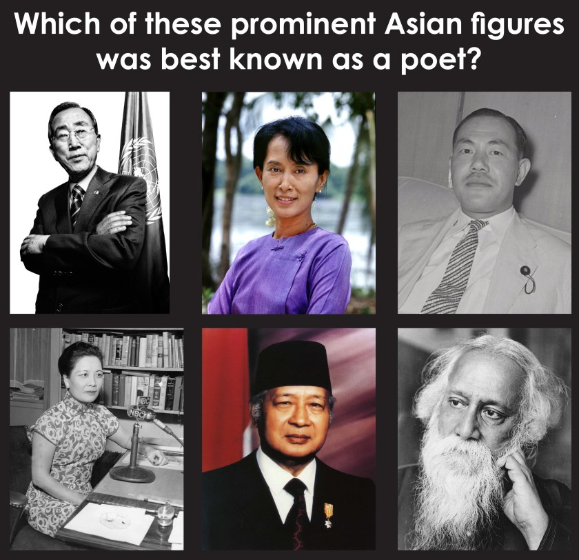 Asian Studies AAS 2015 Pop Quiz