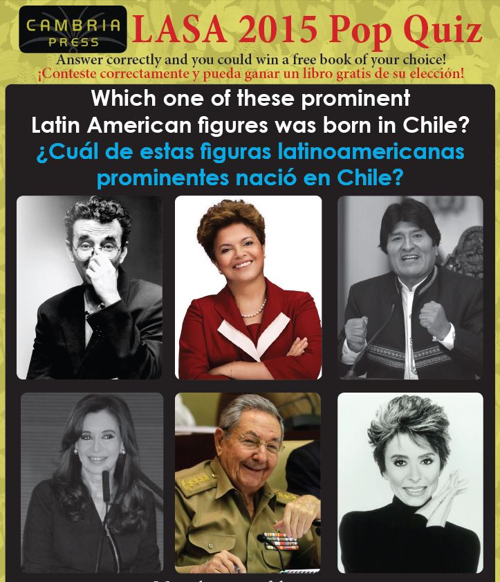 #LASA2015 Cambria Press Latin American Studies LatAm