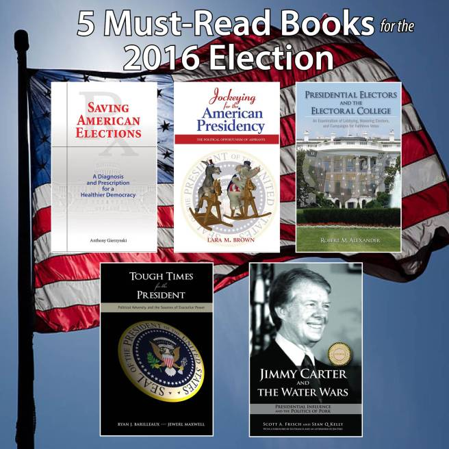 #APSA2015 #2016Election Cambria Press publication review author academic publisher