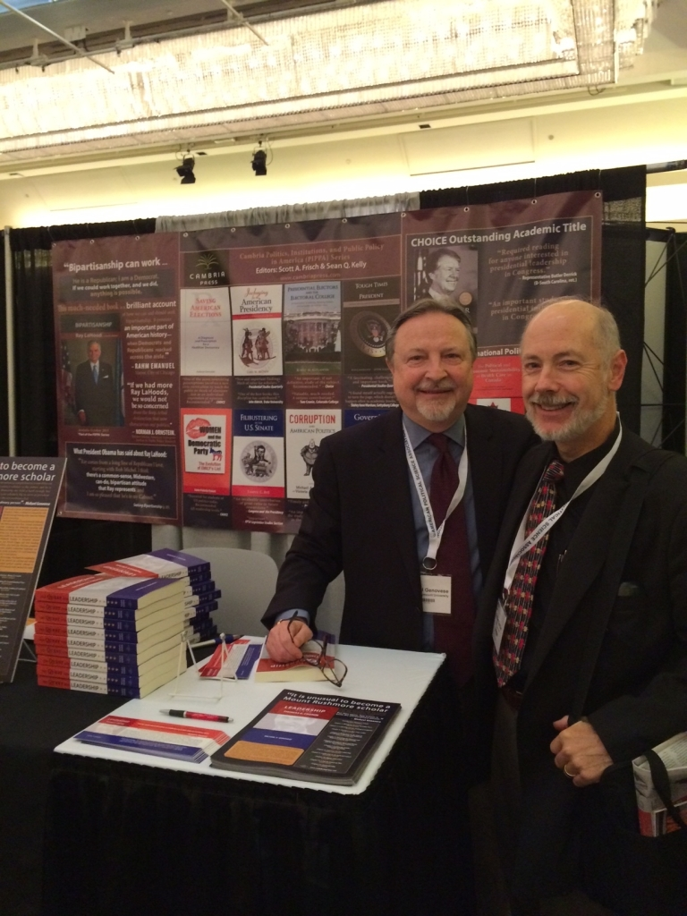Cambria Press Publication author Michael Genovese Robert Spitzer #APSA2015 book political science