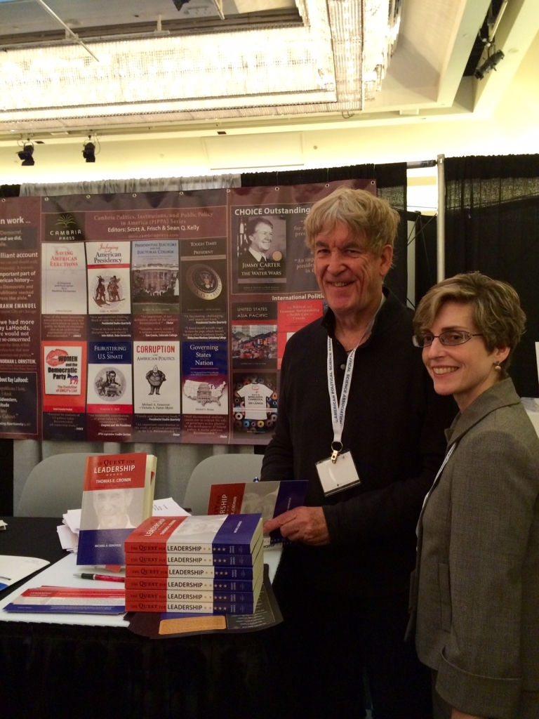 Cambria Press author Victoria Farrar-Myers Thomas Cronin publication #APSA2015 political science