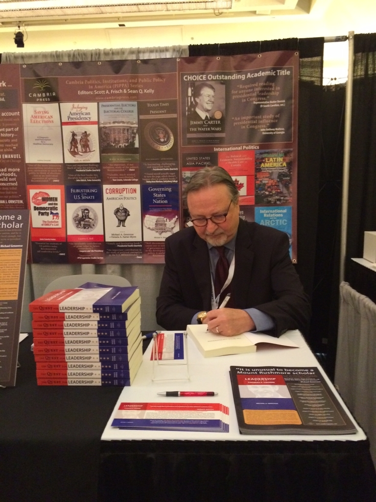 Cambria Press publication author #APSA2015 political science Michael Genovese
