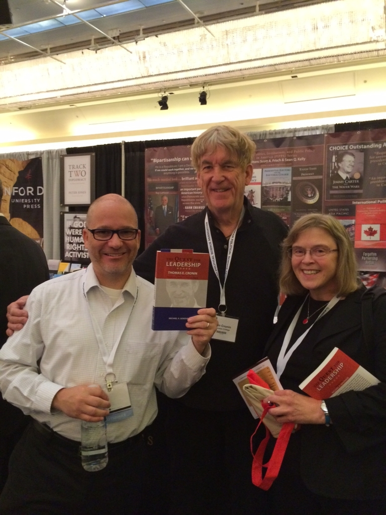 Cambria Press publication Thomas Cronin Janet Martin Tony Mathias #APSA2015 political science book