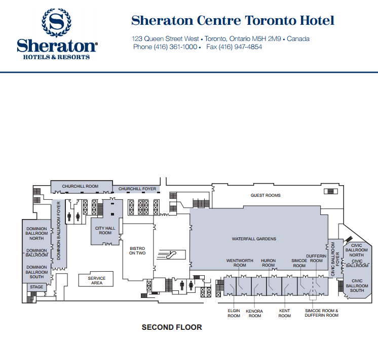 Sheraton Toronto Churchill Room