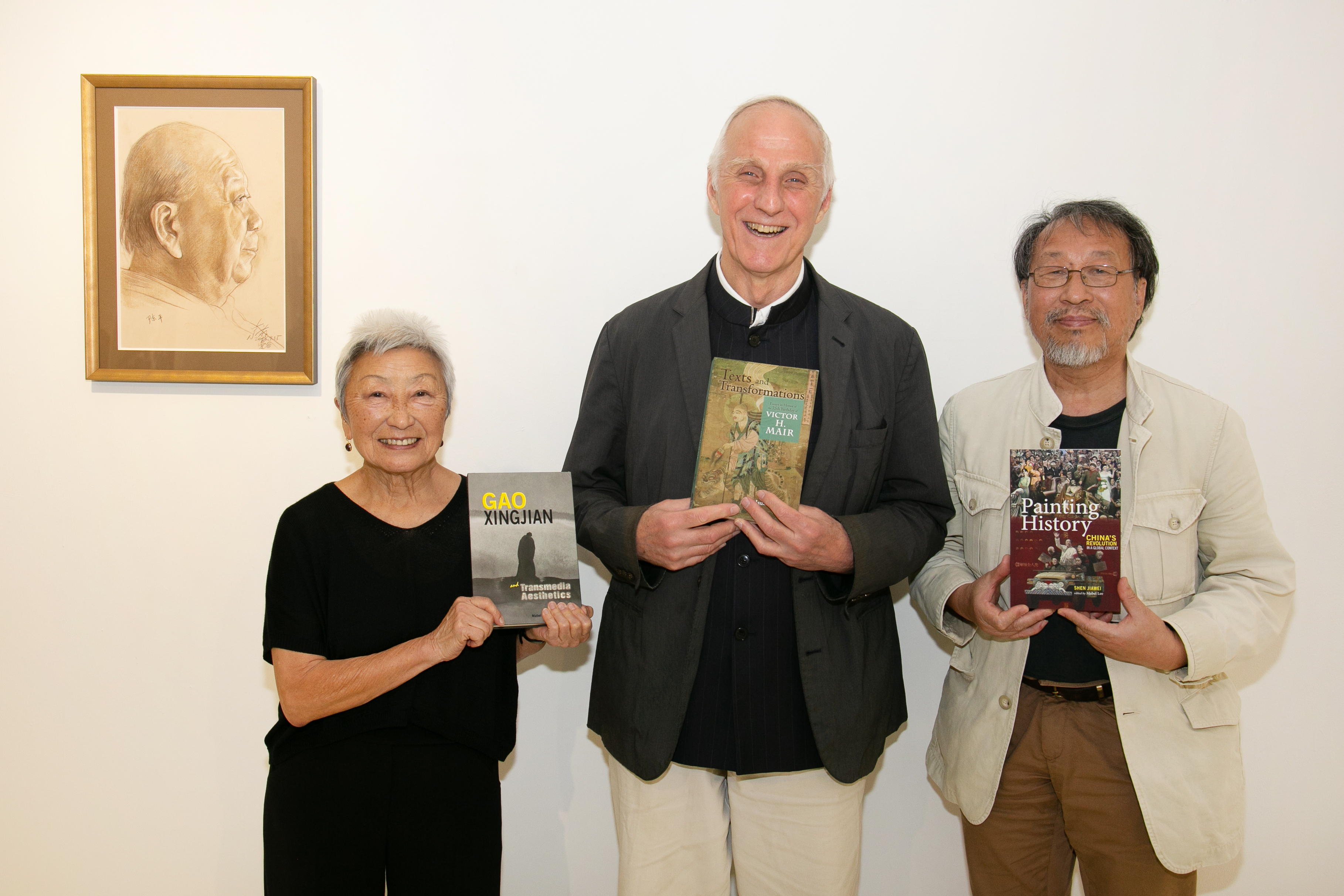 Cambria Press authors with books Mabel Lee Victor Mair Shen Jiawei