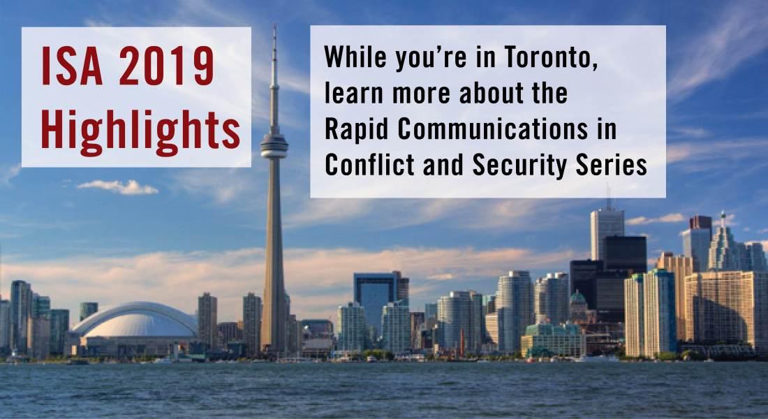 #ISA 2019 Toronto