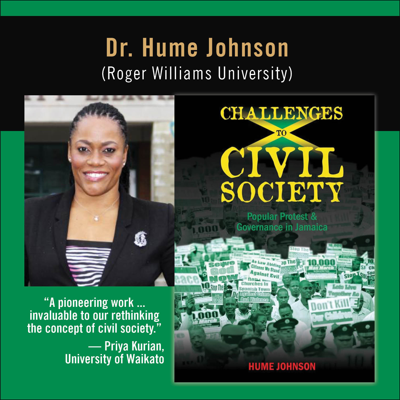 Hume Johnson civil society